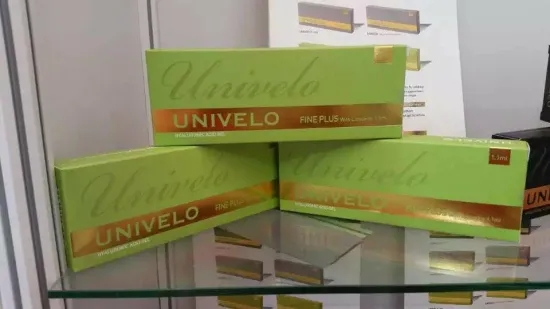 Univelo Pure Double Stable Cross-Linked Hyaluronic Acid for Breast Filling/Enhancement