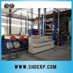 PVC plastic film calendering line
