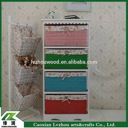 Korea colorful stylish storage cabinet for bedroom