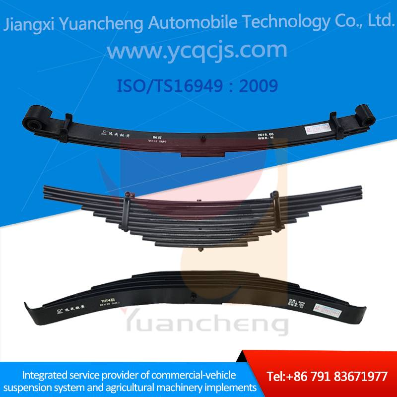 Heavy Duty Trailer Customized Design Taper Leaf Spring