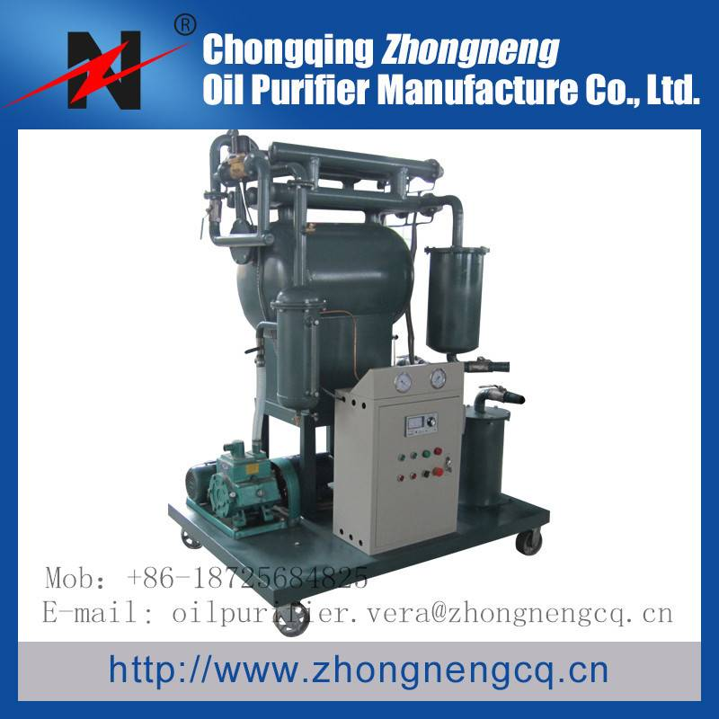 ZY Mobile Tranformer oil Purifier/Single stage Cable oil filtration--dehydration/oil purification