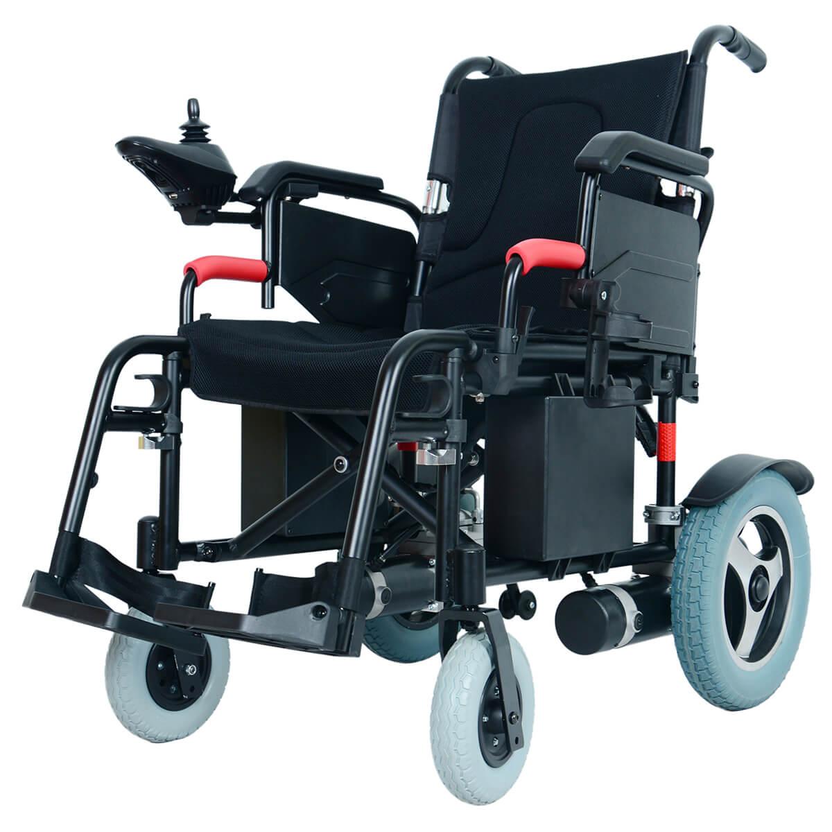 Yattll foldable electric wheelchair power wheelchair motorized wheelchair