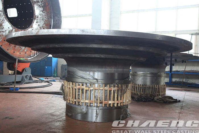 Ball mill head trunnion