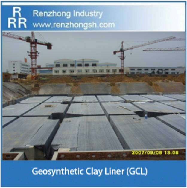 Underground waterproofing geosynthetic clay liner(GCL)