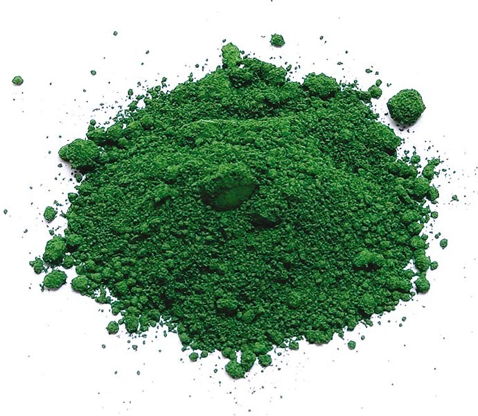 Compound ferric green 835, 836, 5605