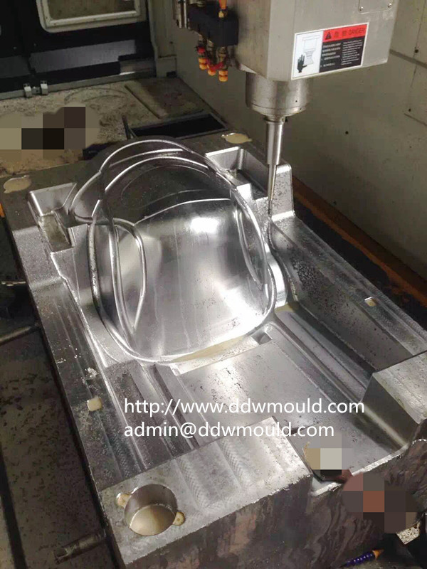DDW Plastic Baby Chair Mold in CNC machining proces
