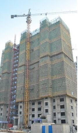 Good quality QTZ125 construction tower crane for sale
