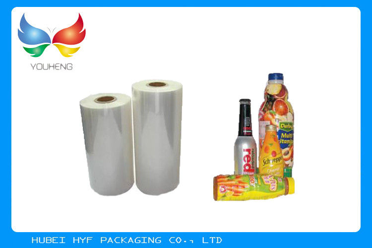 High Shrinking BOPS OPS Shrink Film Rolls For Beverage Bottle Packaging