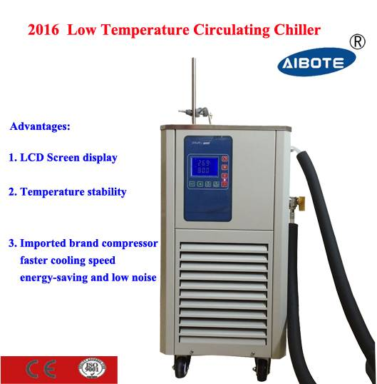 5L / -100 to 99 degree LCD Display industrial water cooling chiller