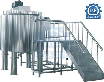 MT Stainless Steel Mixing Tank with Electric Agitator /Mixing Agitator