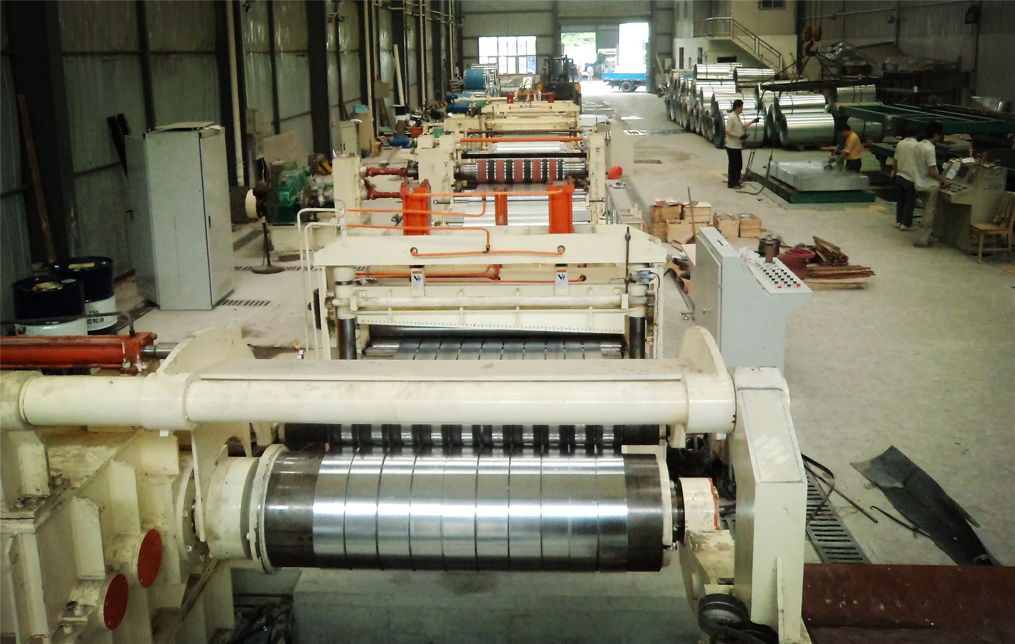 0.3-3x1600 fully automatic slitting line machine
