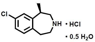 Lorcaserin HCL hemi CAS 856681-05-5