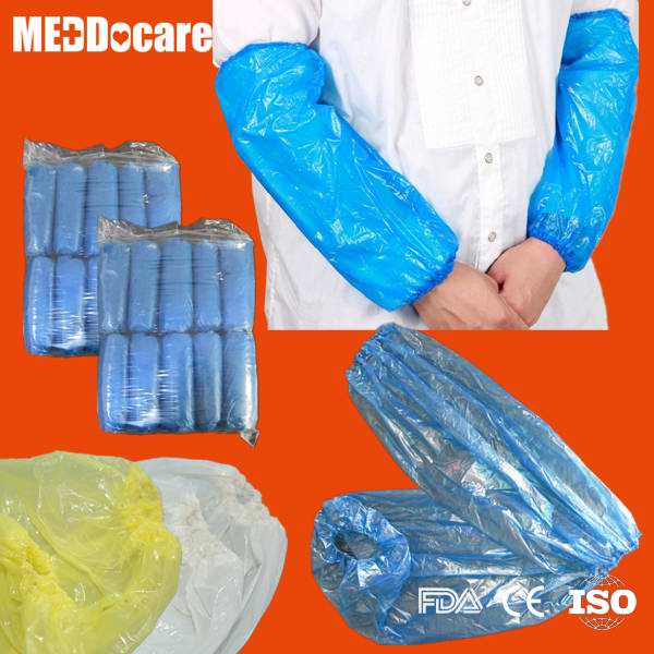 Dailyuse PP SMS Homeuse Clean Sleeve Cover Disposable PE CPE Waterproof Arm Cover Sleeves