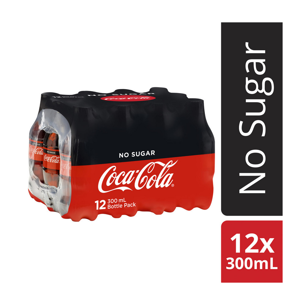 Bottled Cold Cool Soft Drinking Coca Cola 330ml