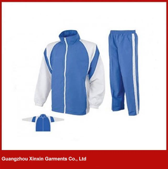Custom high quality outdoor sport tracksuits for training and jogging