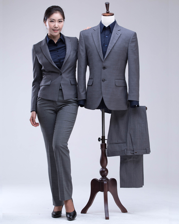 Formal Suits for Business Unisex Shirt Jacket Pants Wool