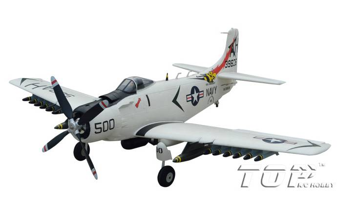 RC Toys War-series 800mm Wingspan A1 Skyraider airplane model is suitable for the middle class