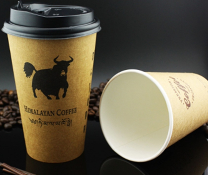 double single wall disposable coffee paper cup