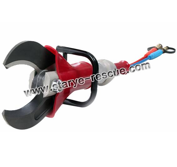 Hydraulic rescue cutter firefighting car extrication shearing tool