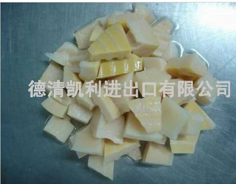 boiled bamboo shoots