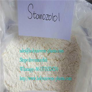 Stanozolol/winstrol/anabolic steroid powders/CAS10418-03-8/C21H32NO2