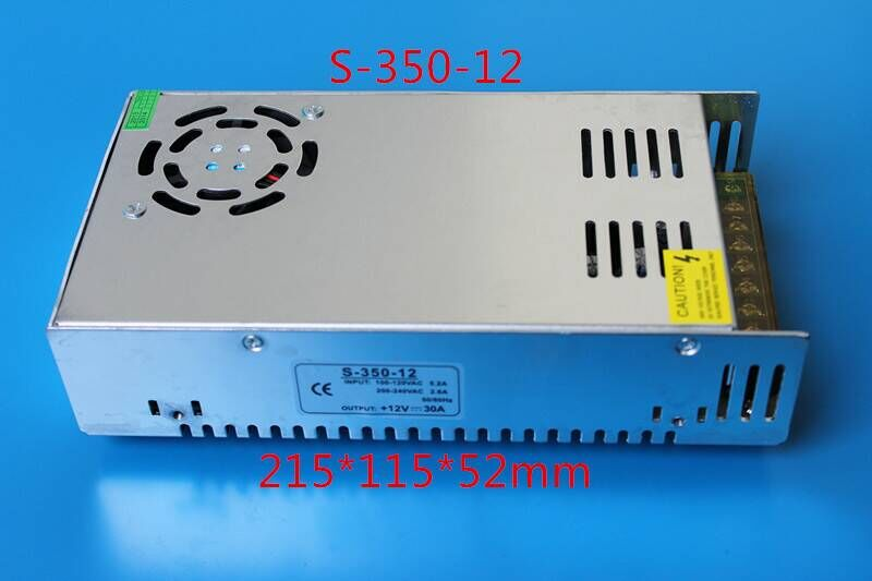 60W DC 12V 5A Power Supply Adapter AC 100-240V to DC 12V Transformers Switching Power Supply for 12V