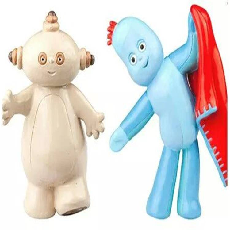 Inflatable Wholesale Small PVC Lovely Plastic Alien Kids model Toy