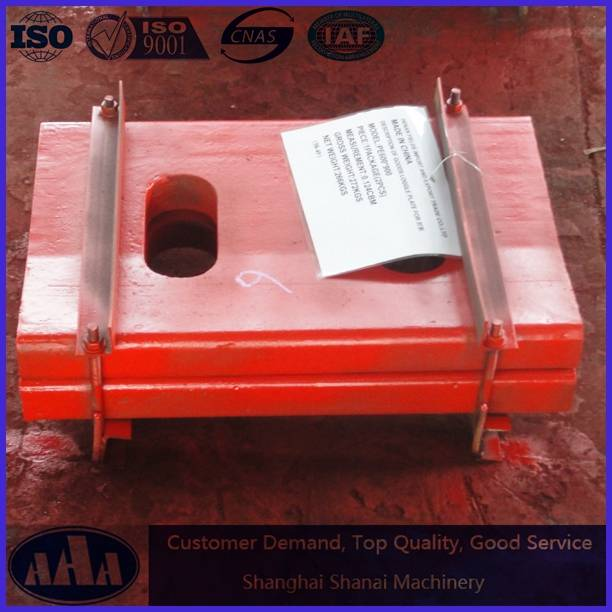 high manganese steel casting toggle plate