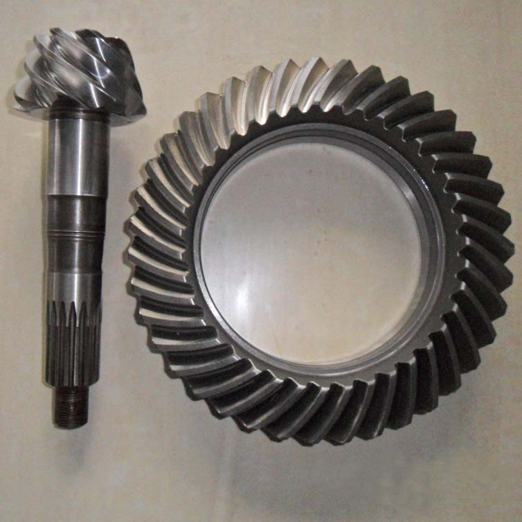 Carbon Steel Pinion Ring Gear Set For Rear axle
