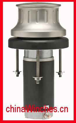 Yacht Vertical Electric Anchor Capstan With Chrome Polished or Stainless Steel