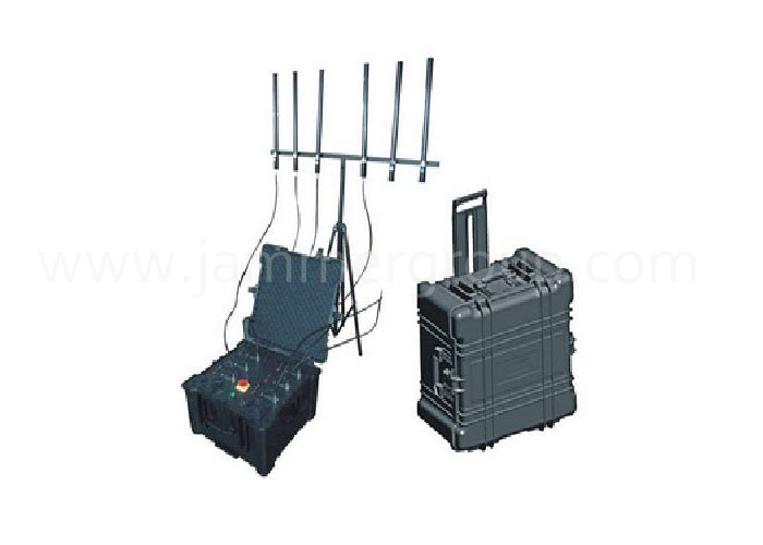 Military protective housing design Anti-explosion 600W High Power Wireless Jammer