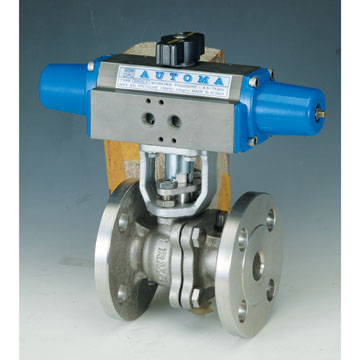FLANGED BALL VALVE - SINGLE ACTING