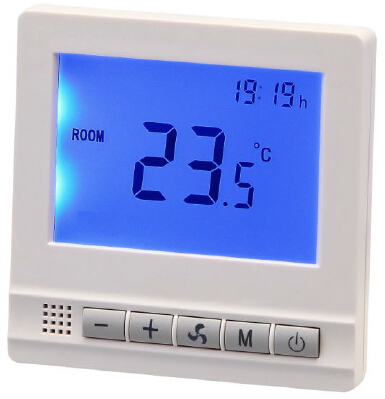 FCU Digital Thermostat With Modbus Communication