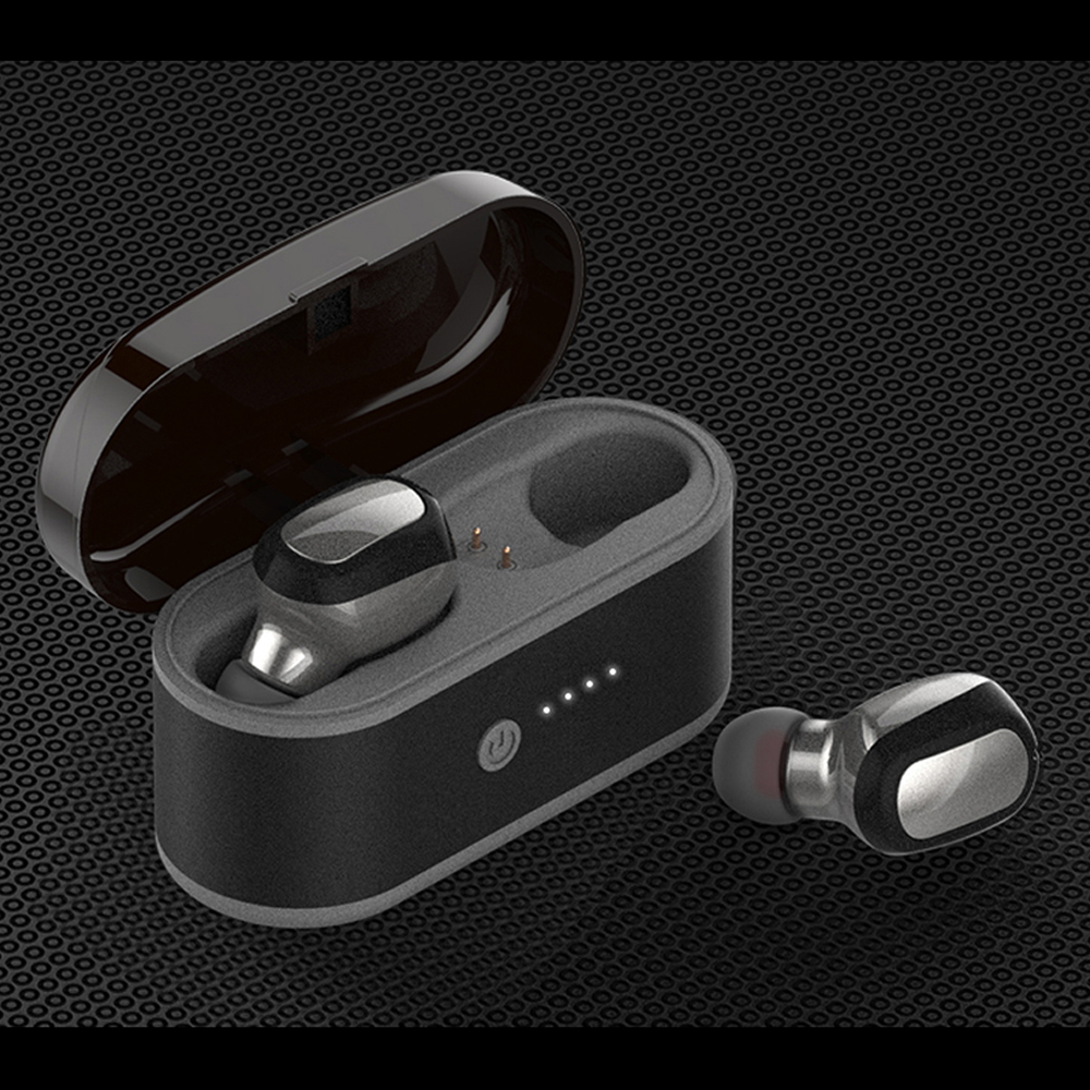 T6S Touch Control Bluetooth 5.0 TWS Wirlress Stereo Headset With Wireless Charging Box