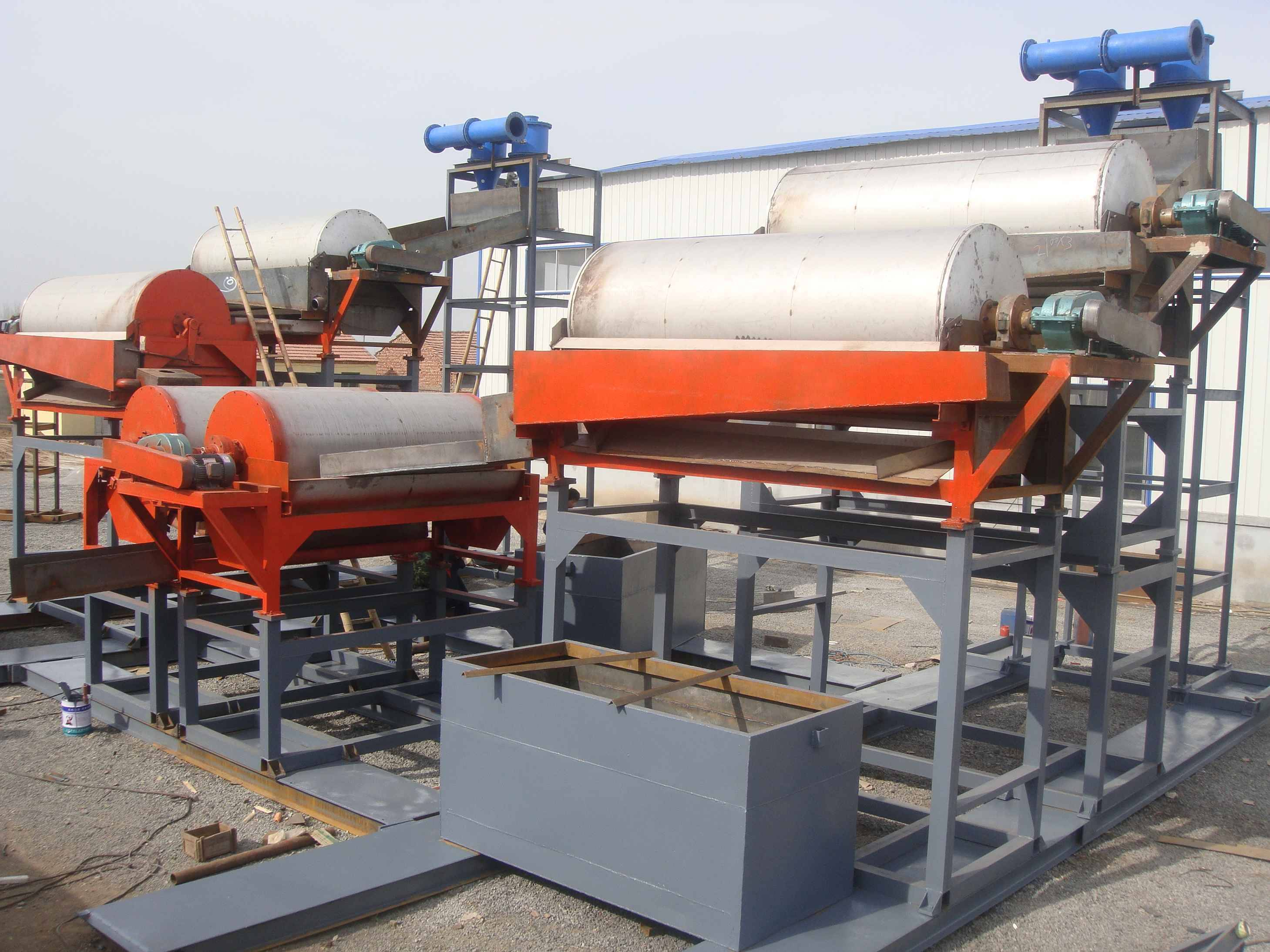 Strong Magnetic Powerful Magnetic Roller Steel/Iron Separator