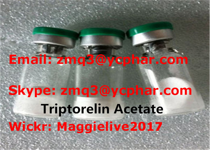Triptorelin Acetate CAS 57773-63-4 Growth Hormone Peptides For Muscle Building