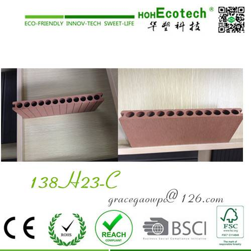 anti-slip barefoot friendly flooring waterproof deck China wpc factory