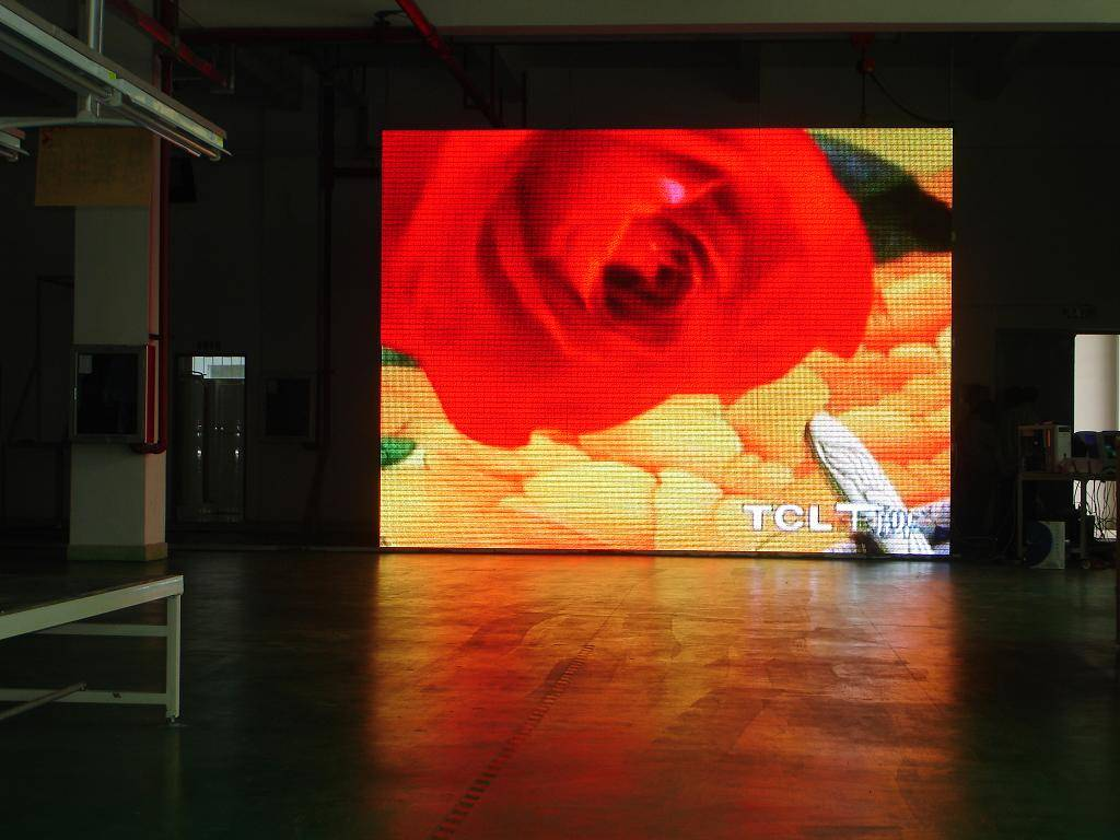 led display for indoor use