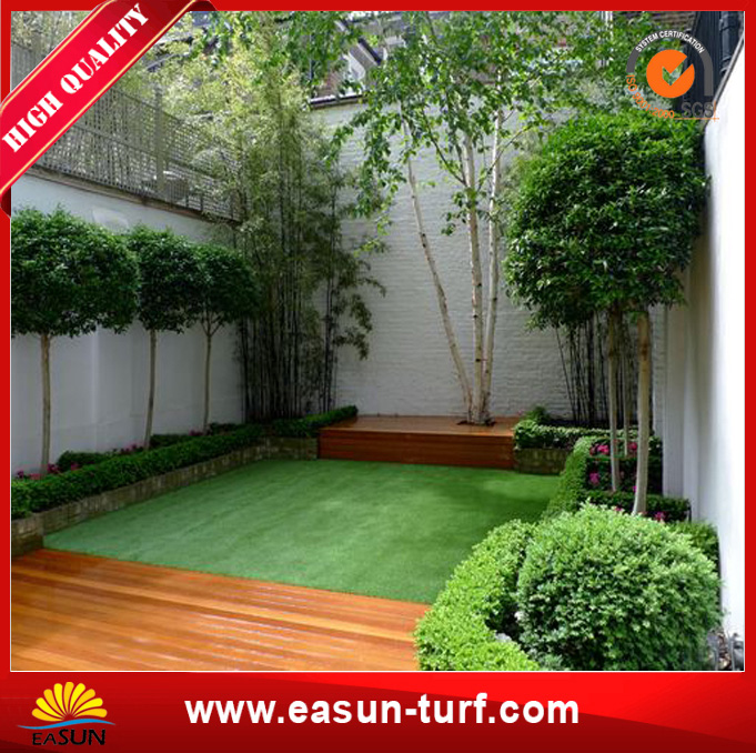 Top Quality 40mm Garden Grass Artificial Turf for Garden-MY