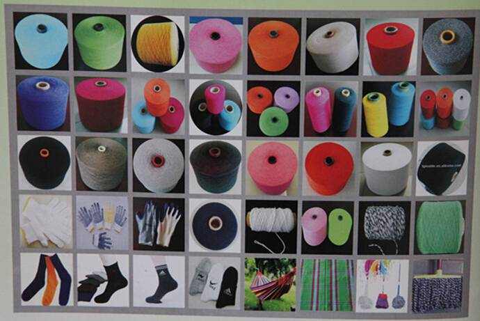 factory dyed yarn,dyed t/c yarn,dyed pc yarn