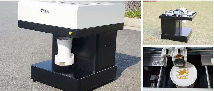 Easy operation selfie latte printer/table top printing machine/selfie coffee printer machine