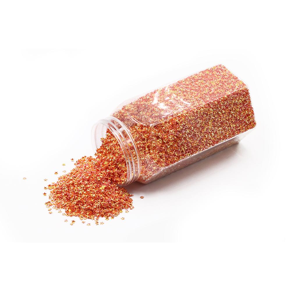 Wholesale bulk fine glitter shapes PET material glitter 1kg for craft