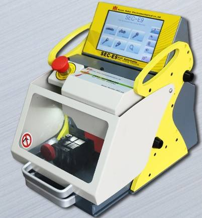 SEC-E9 fully  automatic key cutting machine
