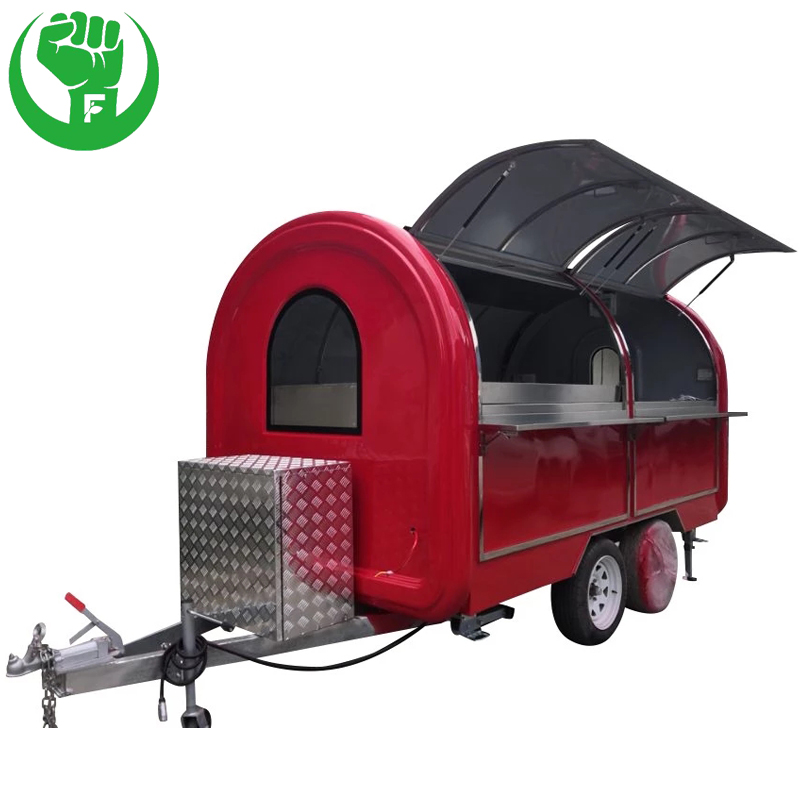 Hamburgers Waffle Carts Food Cart for Sale