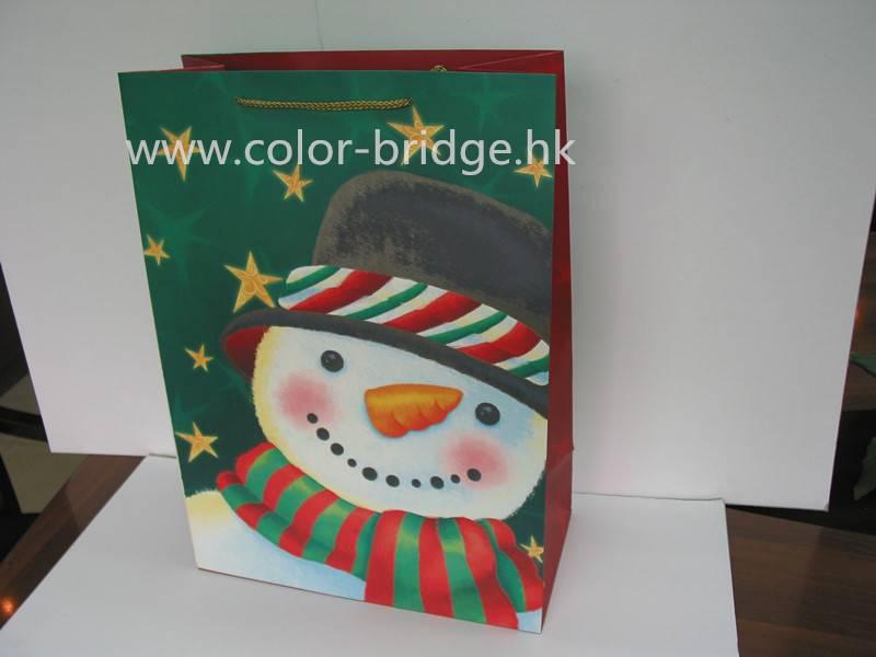 Customizing Festival Gift Paper Bag Birthday Halloween  Christmas Gift Bag