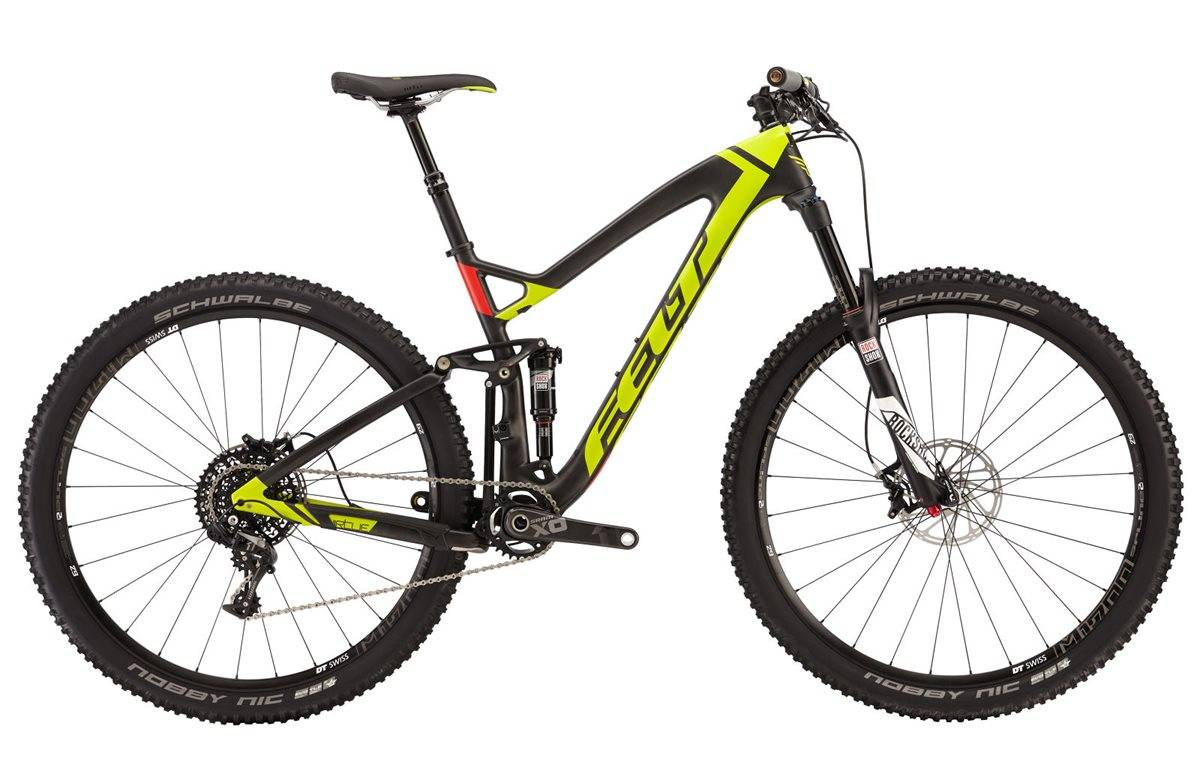 Felt Virtue 1 Mountain Bike 2016 - Full Suspension MTB