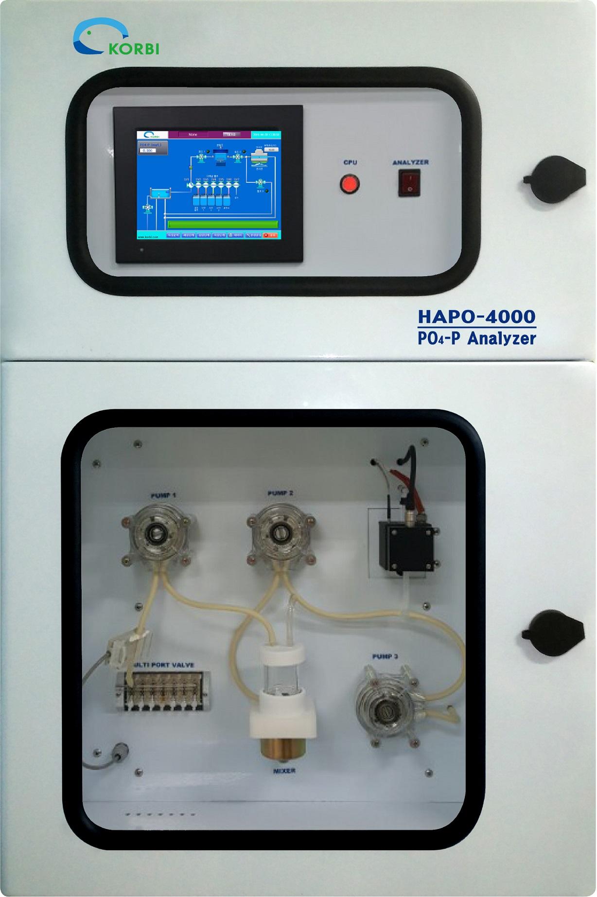 Online Phosphate-Phosphorus Analyzer (HAPO-4000)