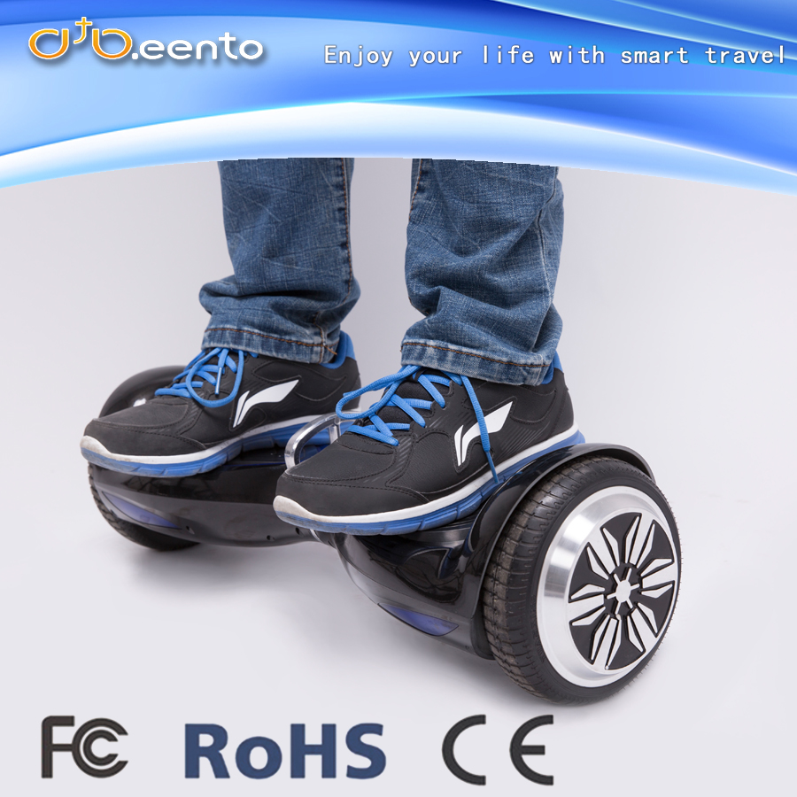China new style 6.5 inch two wheel self balanced electric scooter with bluetooth speaker