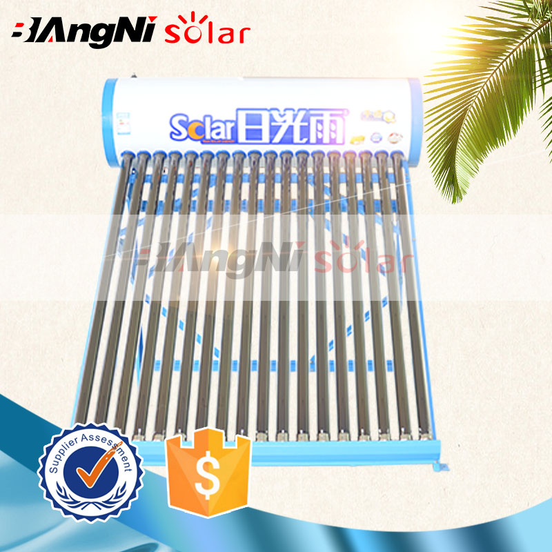 Low price eco-friendly galvanized solar water heater