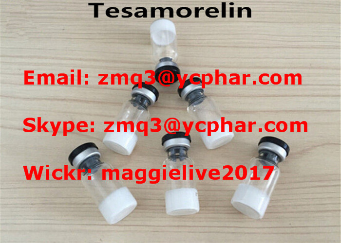 Medical Tesamorelin Peptide Steroid Hormones For Weight Loss 218949-48-5